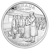 $1 2014 Brilliant Uncirculated Silver Dollar - 100th Anniversary of the Declaration of the first World War