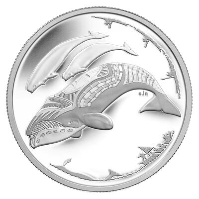 $3 2013 Fine Silver Coin - Life in the North