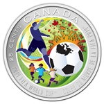 2014 25-Cent Coloured Coin 2014 FIFA World Cup™