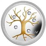 $3 2014 Fine Silver Coin - Jewel of Life