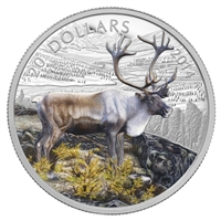 $20 2014 Fine Silver Coin - The Caribou