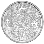 $30 2014 Fine Silver Coin - Canadian Cotemporary Art