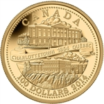 $100 2014 14kt Gold Coin - 150th Anniversary of the Quebec and Charlottetown Conferences
