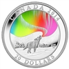 2014 $20 Fine Silver Coin - A Story Of The Northern Lights: Howling Wolf