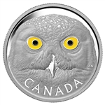$250 Snowy Owl Coin 2014 Pure Silver