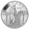 $10 2014 Fine Silver Coin - The Mobilisation of our Nation