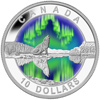 2014 $10 Fine Silver Coin - Northern Lights - O Canada
