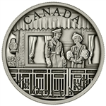 2014 $20 Fine Silver Coin - 75th Anniversary of the First Royal Visit