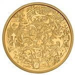 $250 2014 Pure Gold Coin - Canadian Contemporary Art