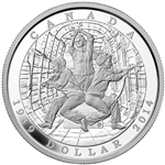 2014 Limited Edition Proof Silver Dollar - 75th Ann. of the declaration of the Second World War