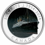2014 50-Cent Silver-Plated Coin - R.M.S. Empress of Ireland