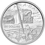 2014 $100 Fine Silver Coin - 100th Anniversary of the declaration of the First World War
