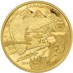 2014 $500 Pure Gold - Aboriginal Story: The Legend of the Spirit Bear