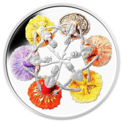 2014 $20 Fine Silver Coin - 75th Anniversary of the Royal Winnipeg Ballet