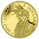 2014 $5 Pure Gold Coin Portrait Of Nanaboozhoo