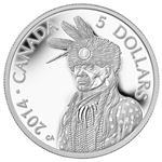 2014 $5 Pure Platinum Coin Portrait Of Nanaboozhoo
