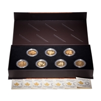 2014 $20 The Seven Sacred Teachings Set (7 Coins + Display Case)