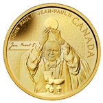 2014 $25 Pure Gold Coin Pope John Paul II