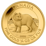 2014 $10 Pure Gold Coin - Arctic Fox