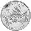 2014 $15 Fine Silver Coin - Exploring Canada: The Arctic Expedition