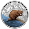 2015 $20 Fine Silver Coin - Beaver at Work