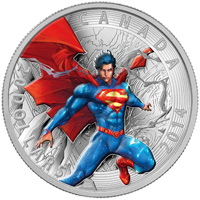 2014 $20 Fine Silver Coin - Iconic Superman� Comic Book Covers: Superman Annual #1 (2012)