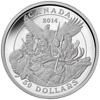 2014 $30 Fine Silver Coin - Canadian Monuments: National Aboriginal Veterans Monument