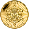 2014 $200 Pure Gold Coin - Interconnection: Land - The Beaver
