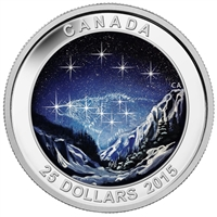 2015 $25 Fine Silver Coin - Star Charts: The Eternal Pursuit