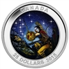 2015 $25 Fine Silver Coin - Star Charts: The Wounded Bear