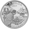 2014 $15 Fine Silver Coin - Exploring Canada: The West Coast Exploration