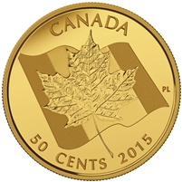 2015 50c Pure Gold Coin - Maple Leaf