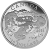 2015 $15 Fine Silver Coin - Exploring Canada: Scientific Exploration