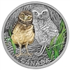 2015 $20 Fine Silver Coin - Baby Animals: Burrowing Owl