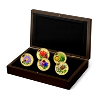 2015 $250 Pure Gold Coins - Flora and Fauna 5-Coin Set