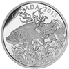 2015 $20 Fine Silver Coin - North American Sportfish: Northern Pike