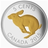 2015 5c Fine Silver Coin - Legacy of the Canadian Nickel: The Centennial 5-Cent Coin