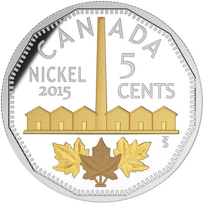 2015 5c Fine Silver Coin - Legacy of the Canadian Nickel: The Identification of Nickel