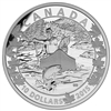 2015 $10 Fine Silver Coin - Canoe Across Canada: Splendid Surroundings