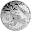 2015 $15 Fine Silver Coin - Exploring Canada: Space Exploration