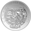 2015 $10 Whitewater Rafting: Adventure Canada - Pure Silver Coin