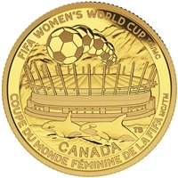 2015 $75 Pure Gold Coin - FIFA Women's World Cup: The Championship Game