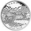 2015 $20 Fine Silver Coin - Limited Edition Fine Silver Coin - 70th Anniversary of the End of the Italian Campaign