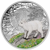 2015 $20 Fine Silver Coin - Baby Animals: Mountain Goat