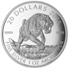 2015 $20 Fine Silver Coin - Prehistoric Animals: American Scimitar Sabre-Tooth Cat