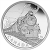 2015 $20 Fine Silver Coin - The Canadian Home Front: Transcontinental Railroad