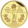 2015 $75 Pure Gold Coin - FIFA Women's World Cup: The Trophy