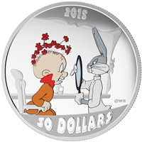 2015 $30 Fine Silver Coin - Looney Tunes Classic Scenes: The Rabbit of Seville