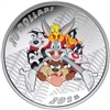 2015 $20 Fine Silver Coin - Looney Tunes: Merrie Melodies