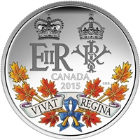 2015 $20 A Historic Reign - Pure Silver Coin